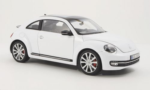VW Beetle, weiss, 2012, Modellauto, Fertigmodell, Welly 1:18