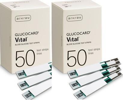 GLUCOCARD Vital Sensor DME Test Strips 50S