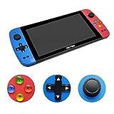 Console PSP, Console di Gioco Portatile retrò PSP 128 Bit, Gioco Portatile Portatile Schermo da 7 Pollici 3000 Giochi Console di Gioco Portatile Integrata per Bambini (A7 / 1.3GHZ)
