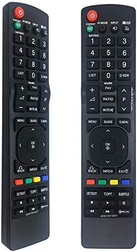 FOXRMT Ersatz Fernbedienung für LG Fernbedienung TV AKB72915207 passend für LG Fernbedienung TV - Keine Einrichtung erforderlich für Fernbedienung LG Fernseher AKB72915207