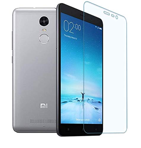 NISHTECH 9H Hardness 2.5D Screen Protector Flexible Tempered Glass for Xiaomi Redmi MI Note 3