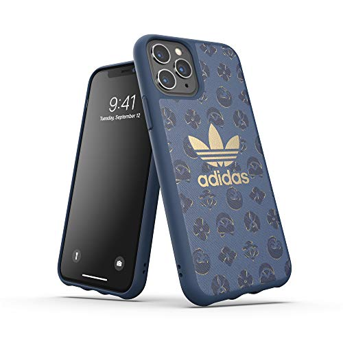 adidas Originals Basics - Carcasa para iPhone 11 Pro, Color Azul