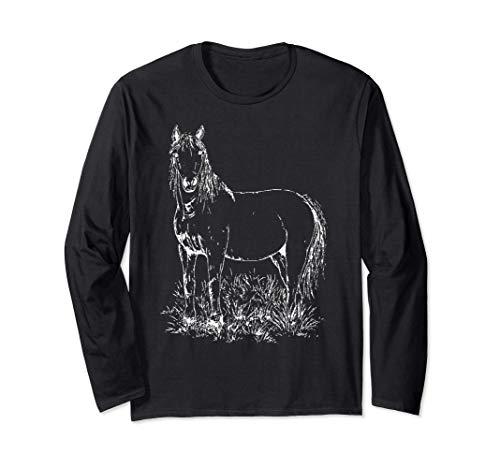 Pferd | Pferde | Reitsport | Pferdeliebe | Reiten Langarmshirt
