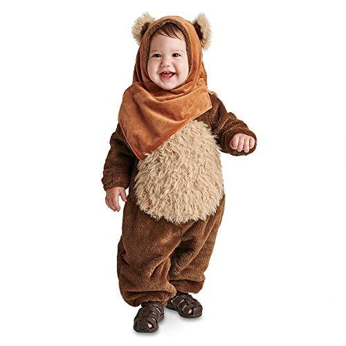 Star Wars Ewok Costume for Baby, Size 3-6 Months Brown