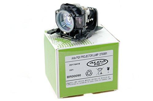 Alda PQ-Premium, Lámpara de proyector Compatible con DT00891 para HITACHI CP-A100, CP-A101, ED-A100, CP-A110, HCP-A8, CP-A100J, ED-A100J, ED-A110, ED-A110J Proyectores, lámpara con Carcasa