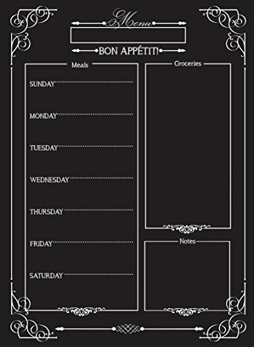 pizarra menu fabricante Chic Chalkboards