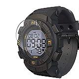 Vaxson - Protector de pantalla compatible con Lenovo EGO Smartwatch Smart Watch, protector de película HD [no vidrio templado]