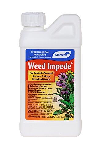 Monterey Weed Impede (Surflan Herbicide) Monterey Lawn & Garden Pre Emergent Herbicides-Pint
