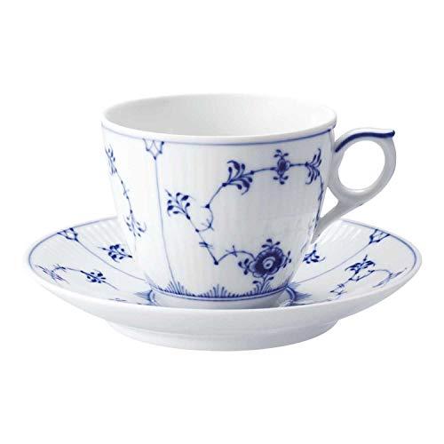 Royal Copenhagen Tasse Mit Untere Kaffee 16 Cl Blue Fluted Plain Einheitsgröße