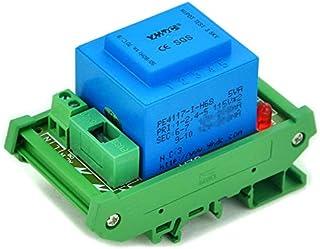 Electronics-Salon 5 Watt(VA) DIN Rail Mount Power Transformer Module (in: 230VAC, Out: 24VAC)