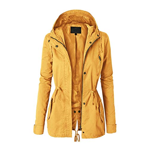 jerferr Black Friday Limited Deals Mantel Damen Winter Hoodie Sweatshirt Zip Up Plain Jacke Kapuzenpullover Kapuzenmantel