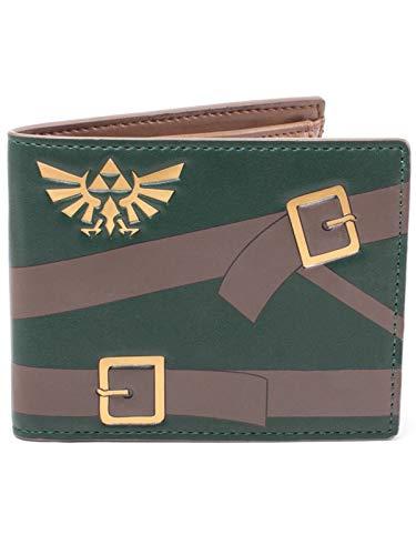 Bioworld Assassin'S Creed Origins Metal Scarab Logo Bi-Fold Wallet, (Mw081020Ace) Monedero, Verde (Verde) - BIO-MW413773ZEL