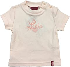 Levi's Camiseta de Manga Corta Talla 12 Meses para Niña