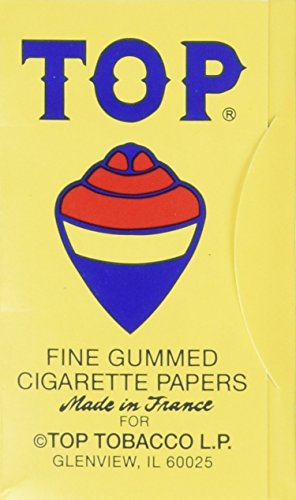 (10 Pack) Top Rolling Papers - 70mm Single Wide Cigarette Papers - Package of 10