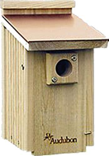 Audubon Coppertop Cedar Wood Bluebird House