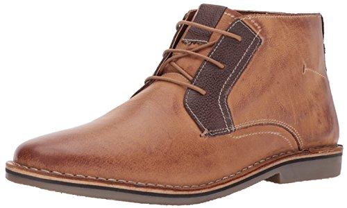 Steve Madden Men's Herrin Chukka Boot, tan Leather, 10.5 M US