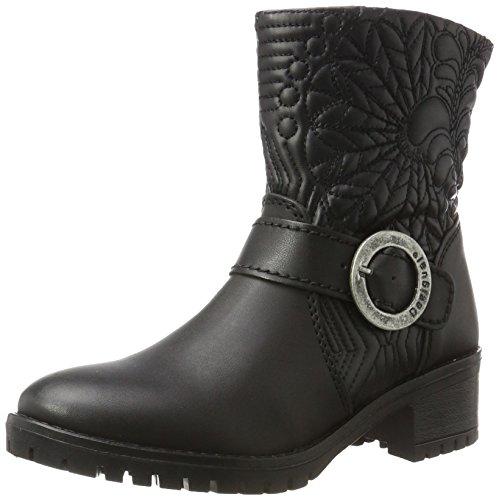 Desigual Damen Shoes_Breaker Lottie Stiefeletten, Schwarz (Negro 2000), 40 EU