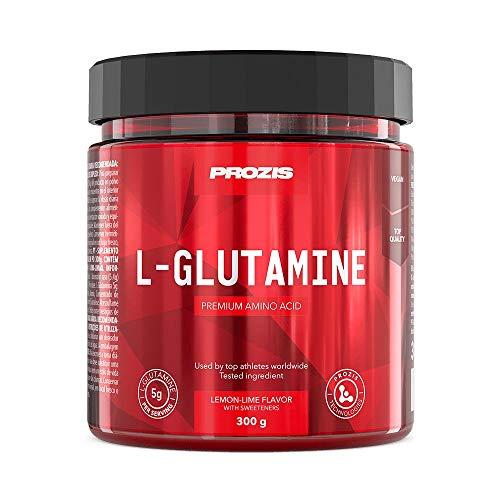 Prozis L-glutamina Componente Fundamental de las Proteínas, Lemon-Lime - 300 g