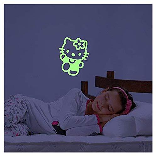 Ambiance Phosphoreszierende Wandtattoo Hello Kitty 2-25 X 20 cm