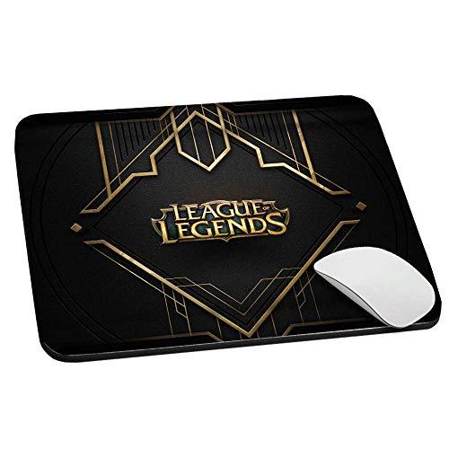 SLIDE Mouse Pad Tappetino per Mouse, 20x24 cm Antiscivolo, PRECISIONE e SCORREVOLEZZA Massima, per PC, Laptop, Notebook, con Stampa Grafica, Gaming LOL