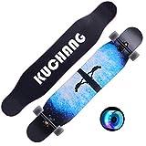 LYP Tabla de Skate Freestyle Dancing Longboard Complete Cruiser 7 Capas de Madera de Arce para Principiante Adulto Niño Niña Cepillo Street Skateboard para niños