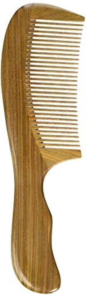 賞賛するオフジョガーEQLEF? Green sandalwood no static handmade comb,Pocket comb (standard) [並行輸入品]
