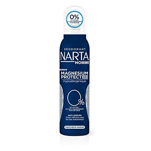 NARTA - Homme Deodorant Atomiseur Dermo Efficacite 150Ml - Lot De 3 - Vendu Par Lot