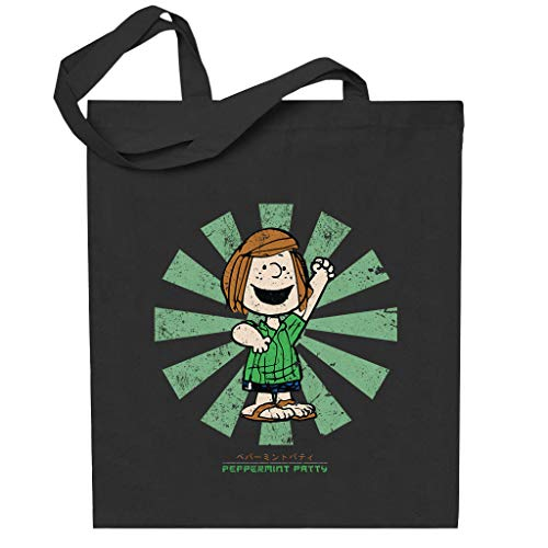 Cloud City 7 Peppermint Patty Retro Japanese Peanuts Totebag