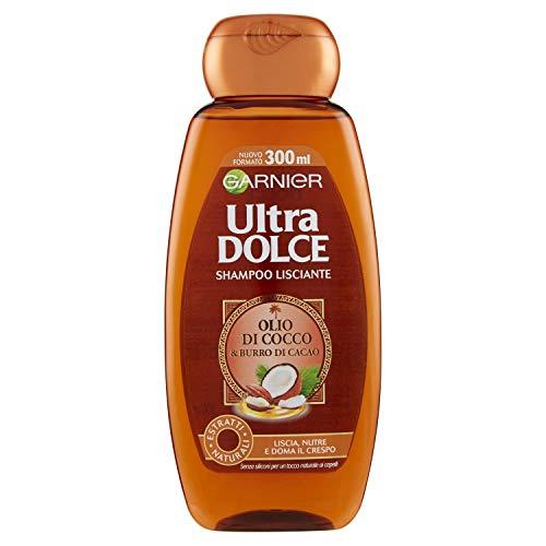 Garnier CHAMPÚ Ultra Dulce DE Aceite DE Coco Y Manteca DE Cacao 300 ML