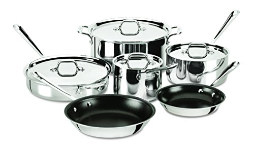 10 piece all clad cookware - 6