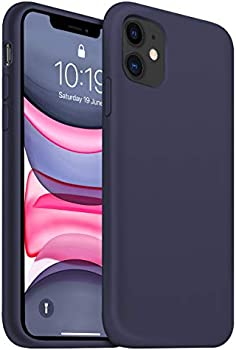 Ouxul 6.1 Inch Liquid Silicone Gel Rubber iPhone 11 Protective Case