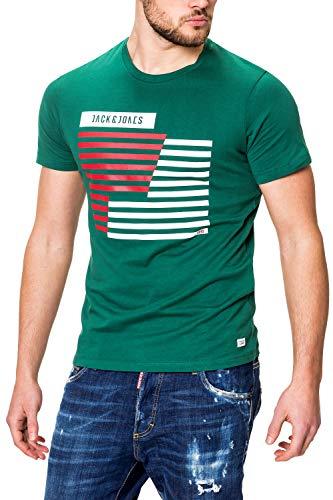JACK CORE - Maglietta a Maniche Corte da Uomo Sempreverde S