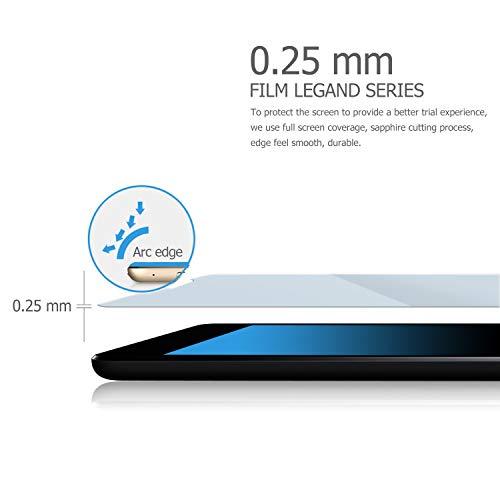 ELTD Panzerglas Schutzfolie für Samsung Galaxy TAB S5E,Rounded Corners 2.5D, 9H Härte, gehärtetes Glas Display Schutzfolie für Samsung Galaxy TAB S5E T720/T725 10.5 Zoll Tablet PC (2 Stück)