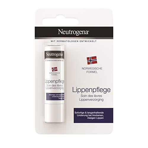 Neutrogena Norwegische Formel Lippenpflege, Classic, für trockene Lippen, 4.8g