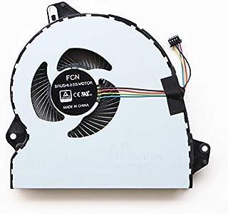 DXCCC Ventilateur de refroidissement pour ordinateur portable Asus Vivobook S551 S551LB V551 V551L R553L K551 K551L K551LA K551LB K551LN Q551 Q551L Q551LB Q551LN Q552UB N591LN Cpu EF50060S1-B C180-S9A