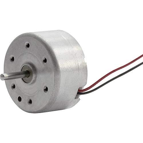 Sol-Expert Solar- und Leichtlaufmotor RF300, Achswellenlänge 10 mm lang