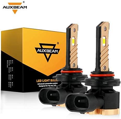 Auxbeam 9005 LED Fog Light Bulbs 6500K 2800 Lumens 36W 9005 LED Bulb 3570 SMD Chips 12V LED product image