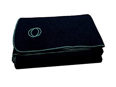 "Orion Blanket Co. Labor Day Sale, Vestige Military Wool Blanket, 4.5 lbs, We Donate 1 Blanket for Every 5 Sold, 66"" x 84"" (Navy Blue/Lt. Blue)"