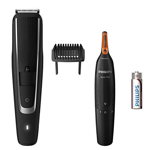 Philips BT5503 85 Tondeuse Barbe Series 5000 Avec Tondeuse Nez-Oreilles
