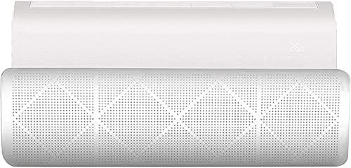 MBOOM Deflettore del condizionatore,Design a rete, resistente e leggero,bianco, 90 x 27 cm