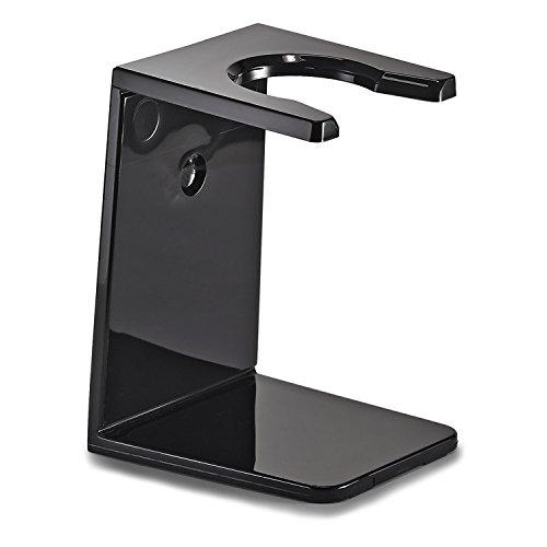 The Art of Shaving Brush Stand, Black, 1 Ounce