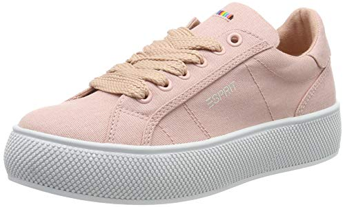 ESPRIT Damen LU Sneaker, Beige (Nude 685), 38 EU