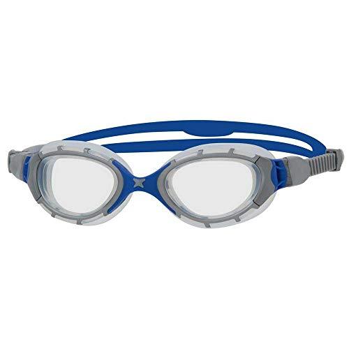 Zoggs Predator Flex-Regular Fit - Occhialini da Nuoto, per Adulti, Unisex, Multicolore, Taglia Unica