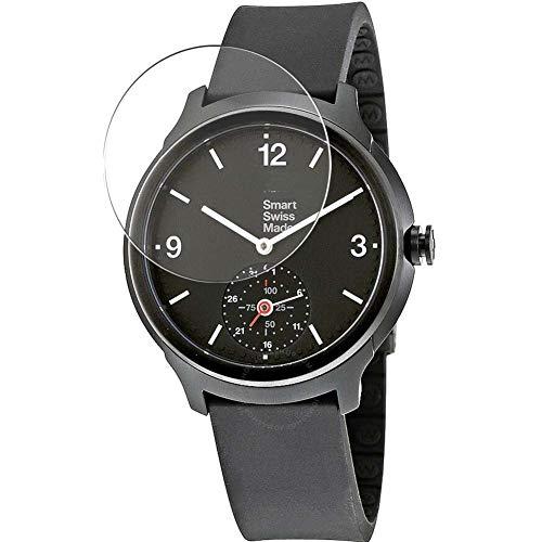 Vaxson 3 Stück Schutzfolie, kompatibel mit Mondaine Helvetica 1 Smartwatch Hybrid Watch, Bildschirmschutzfolie TPU Folie [ nicht Panzerglas ]