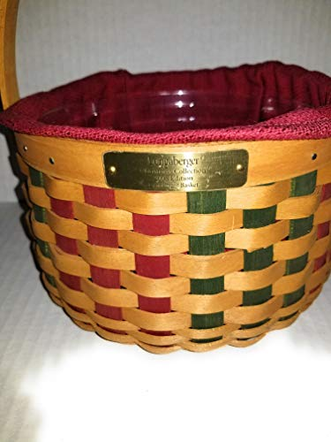 Longaberger 2003 Christmas Caroling Basket Combo w TO