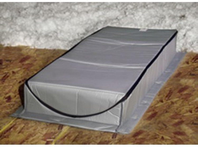 Dachboden Zelt at-5Dachboden Cover Isolator 76,2x 152,4x 33cm Rough ffnung