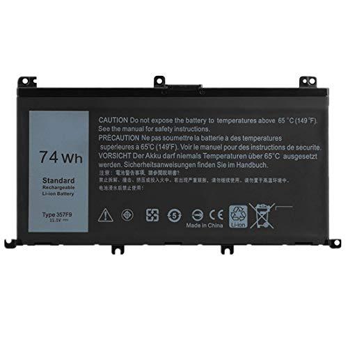 Bestome Ersatz Akku Kompatibel mit Dell Inspiron 15 7000 7559 7567 7566 7759 7557 5577 INS15PD Series P57F P57F003 P65F P65F001 0GFJ6 71JF4 INS15PD-3848B INS15PD-2748B