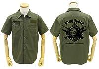 PLAYERUNKNOWN'S BATTLEGROUNDS PUBG 征服者 ワッペンべースワークシャツ モス Lサイズ