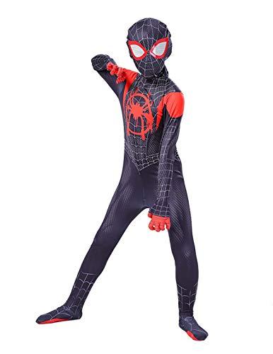 Leezeshaw - Disfraz de superhroe de Marvel unisex para adultos y nios, de licra y elastano, para Halloween y fiestas de cosplay