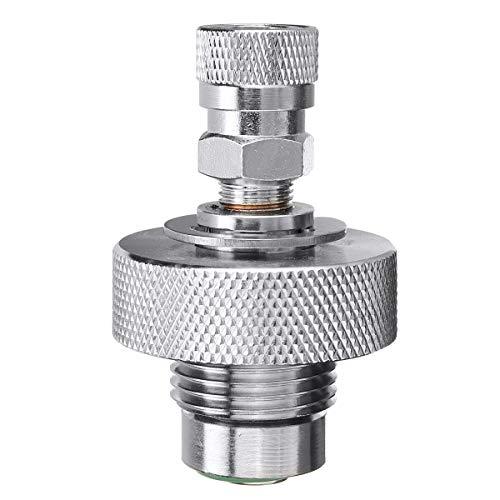 N /A DIN-Ventilfülladapter für Paintball-Luftwerkzeuge, 300 bar, männlich/weiblich, Edelstahl (02#)